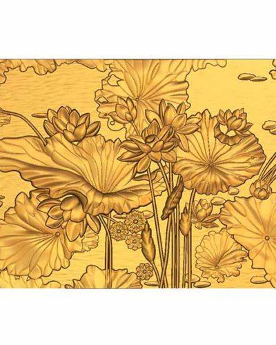 cnc çiçek tablosu çizimi