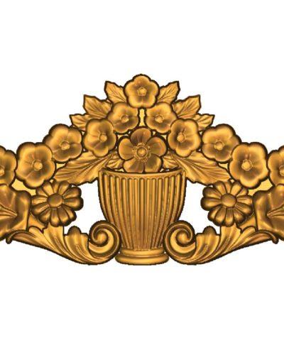 duvar dekoru çiçek modeli