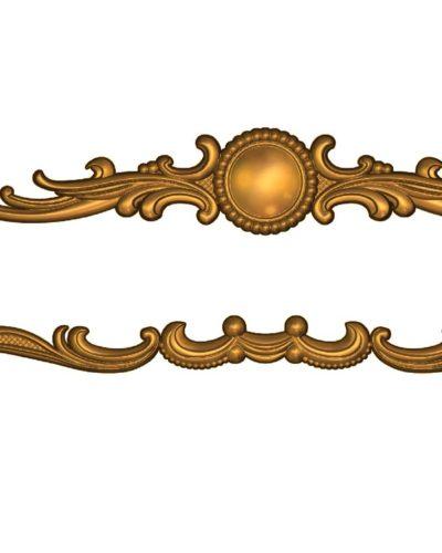 Cnc dekoratif oyma panel modeli