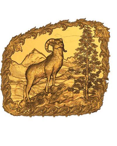 cnc Dağ Keçisi Modeli