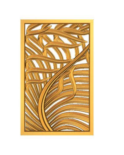 Palmiye yaprağı desenli panel modeli