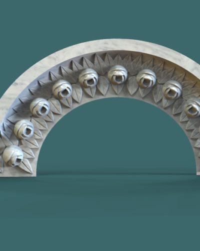 Cnc 3D Mezar Taşı Motifleri Çizimi