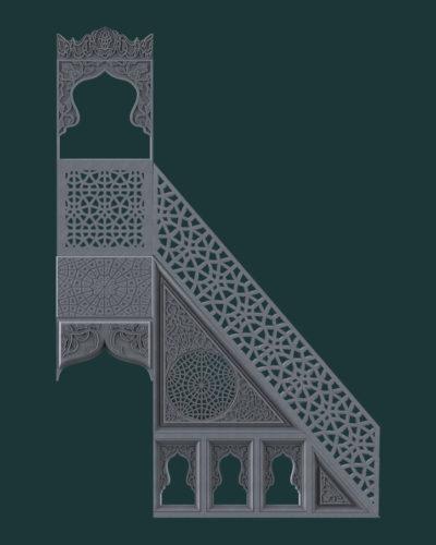 Cami ve Minber Desenleri